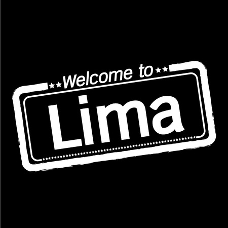 Welcome to Lima City illustration design