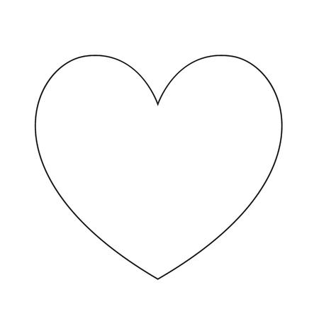 cuore disegno icona