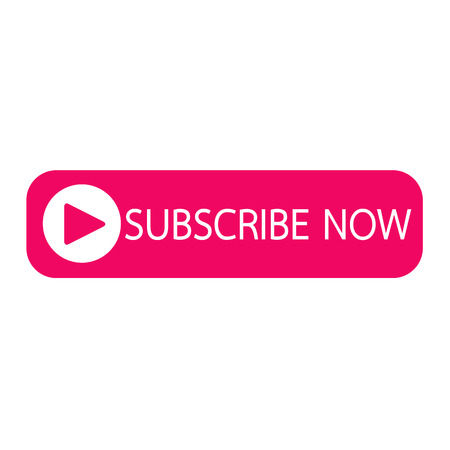subscribe now: Subscribe now button icon illustration design