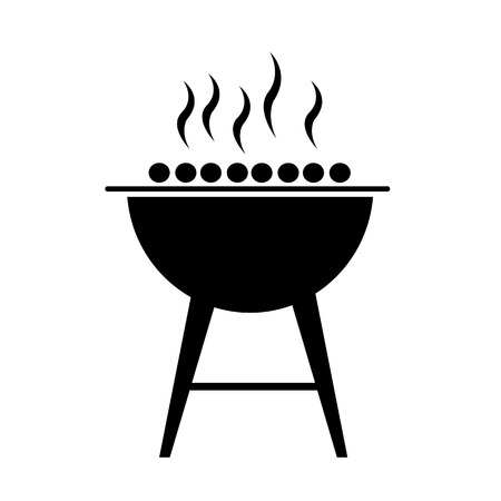 bbq Icon illustration design