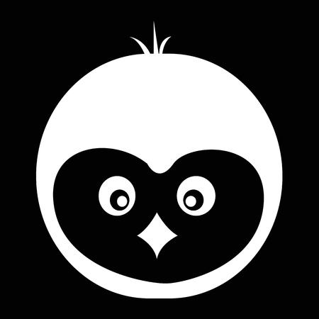 pinguin: Pinguin icon illustration design Illustration