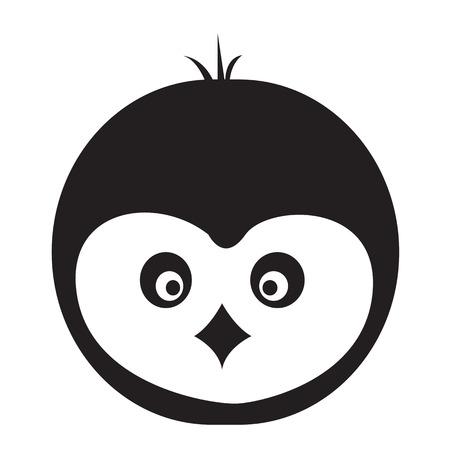 Pinguin icon illustration design Illustration