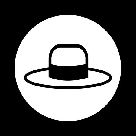 pent: Hat Icon Illustration design