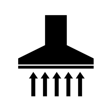 extractor: extractor hood  icon illustration design