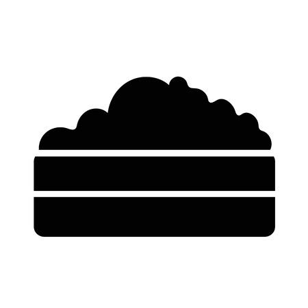 mound: Compost Heap icon illustration design