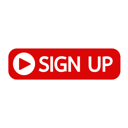 subscribing: sign up button icon illustration design