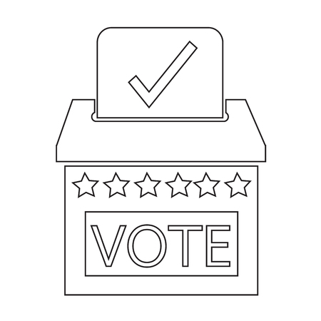 voter: election icon illustration design
