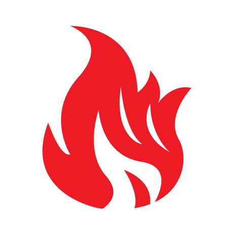 Fire Flame icon illustration design