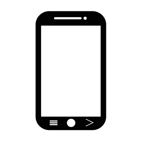 smartphone icon: Smartphone icon illustration idesign Illustration