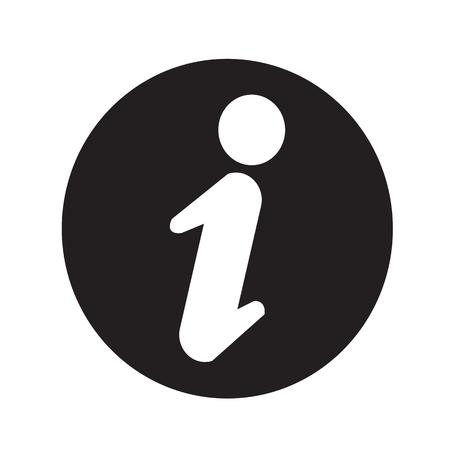 inform: Information sign icon illustration design Illustration