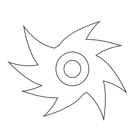 typhoon: Hurricane icon illustration idesign Illustration