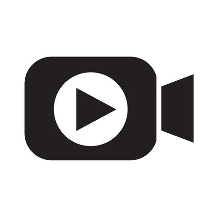 videocamera icona di design