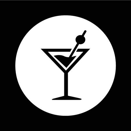 Drink beverage icon illustration design