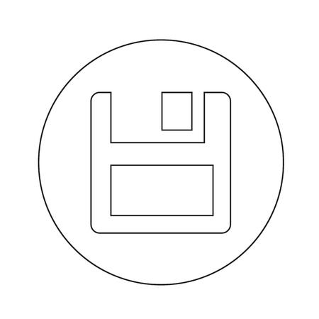 floppy disk: floppy disk icon illustration design