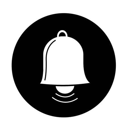 ring tones: bell icon illustration design