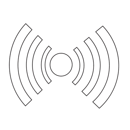 wifi icon illustration design