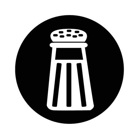 SHAKER: pepper shaker icon illustration design