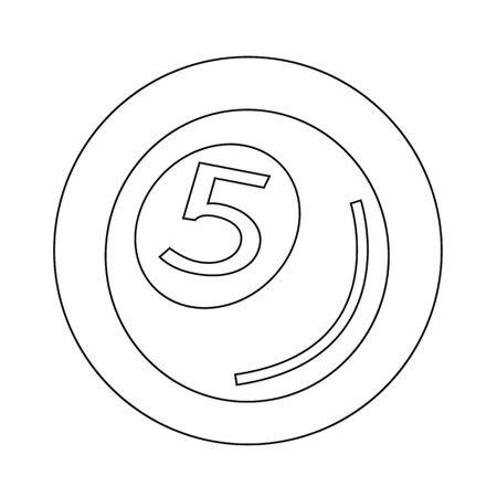 pool ball: Pool Ball Icon illustration design