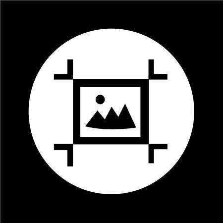 artboard: Artboard Tool Icon illustration design