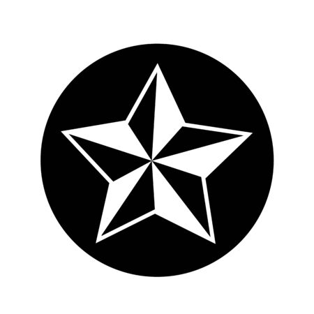 star icon illustration design