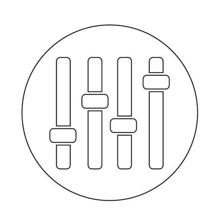 panel: control panel icon Illustration