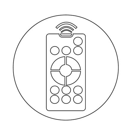 Afstandsbediening pictogram