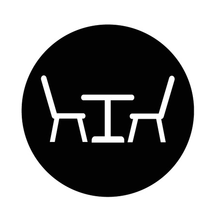chairs: Table with chairs icon