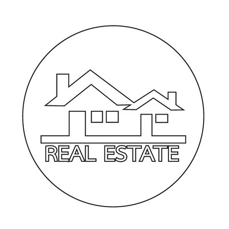estate: Real estate  icon