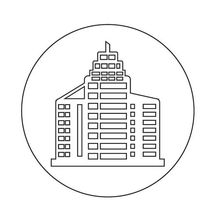 midtown: Office building icon