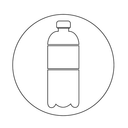 purified: water bottle icon