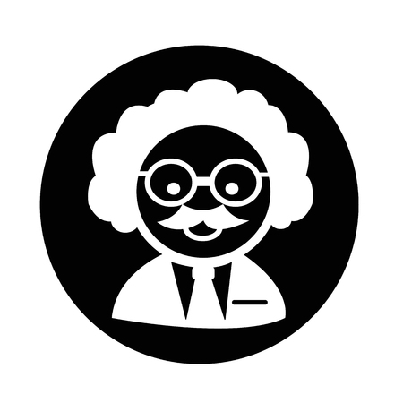 Scientist  Professor icon