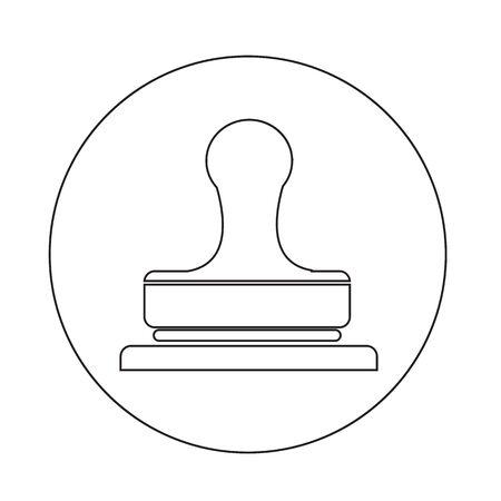 qualify: Stamp icon