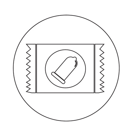 packaging aids: condom icon