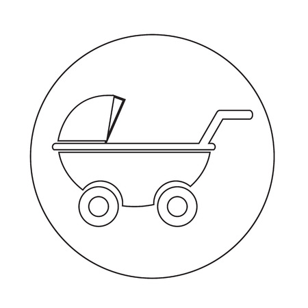 carriages: Baby carriages icon
