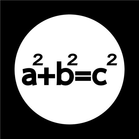 teorema: Pythagoras theorem icon