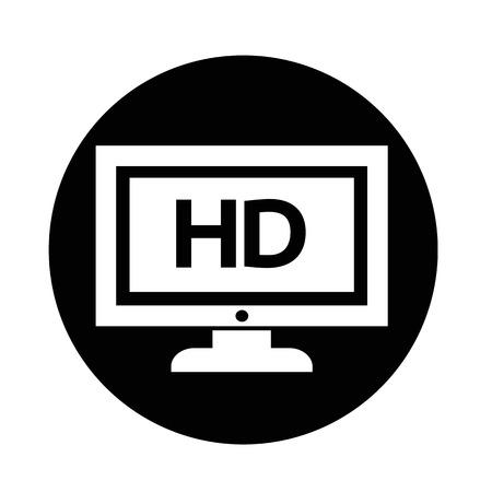 Icône de TV Banque d'images - 70663149
