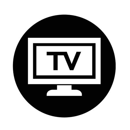 Icône de TV Banque d'images - 70663413