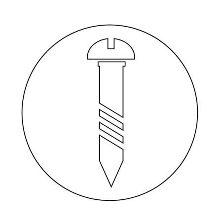 screw: screw icon Illustration