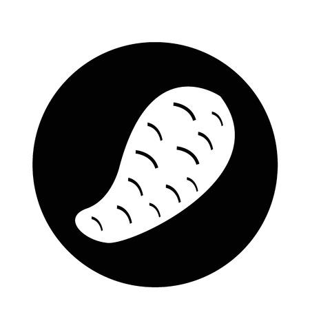 pareja comiendo: Patata dulce icono