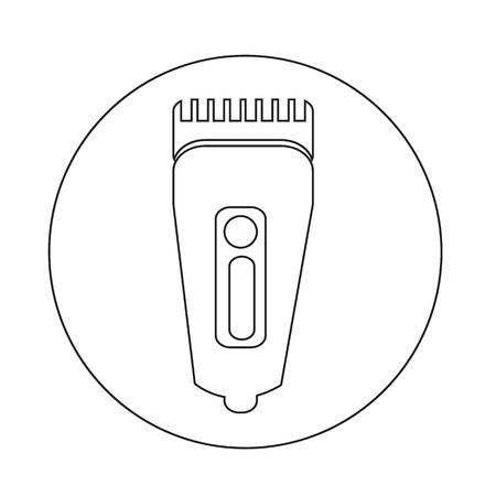 Shaver symbole Hairclipper icône
