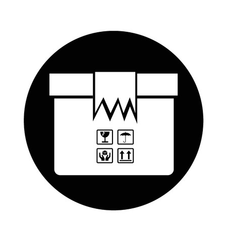 moving crate: Box Package Icon