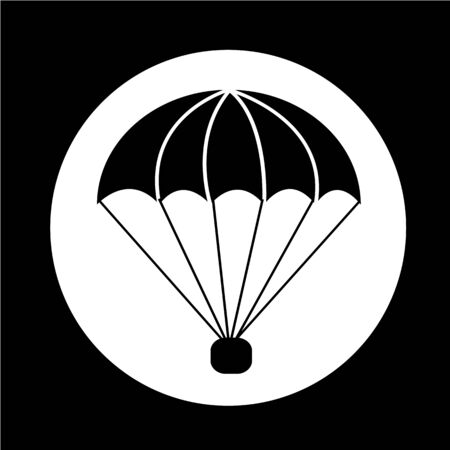 parachute icon Illustration