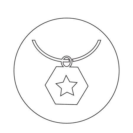 platinum: Necklace Icon