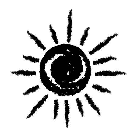 icon: Sun icon Illustration