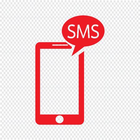 Smartphone icono ilustración vectorial