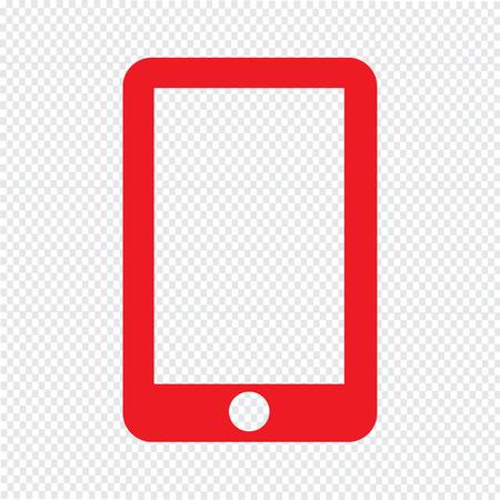 smartphone icon vector illustration