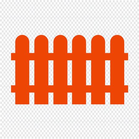 Fence icon vector illustration