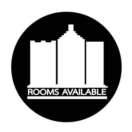 accomodation: Room Available icon Illustration