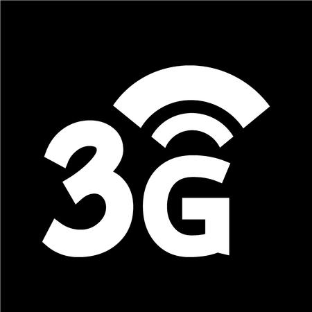 3g: 3G Wireless internet icon