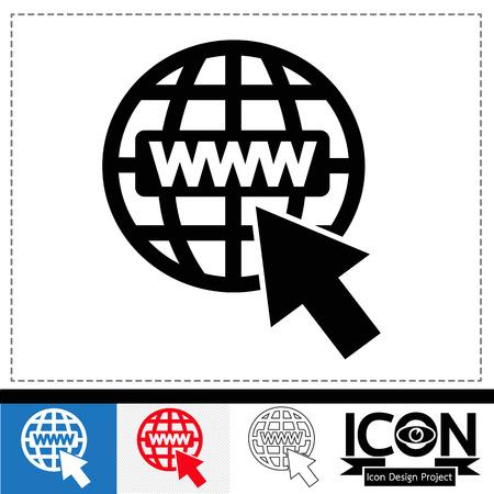 webhost: Web Icon